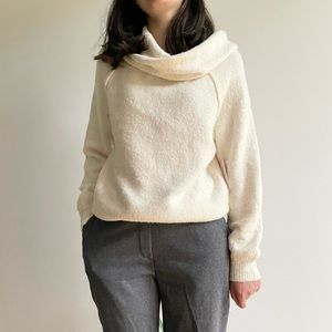 NWT FREE PEOPLE ECHO BEACH PULLOVER IVORY - XS